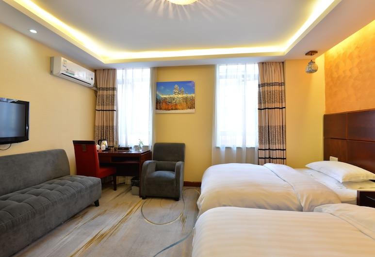 雅約臻品酒店錦樹店, 閔行區, 家庭標準客房, 客房