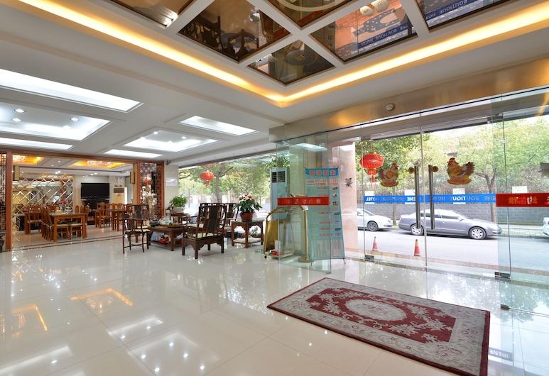 Irene Boutique Hotel Jinshu Branch, Shanghái, Entrada interior