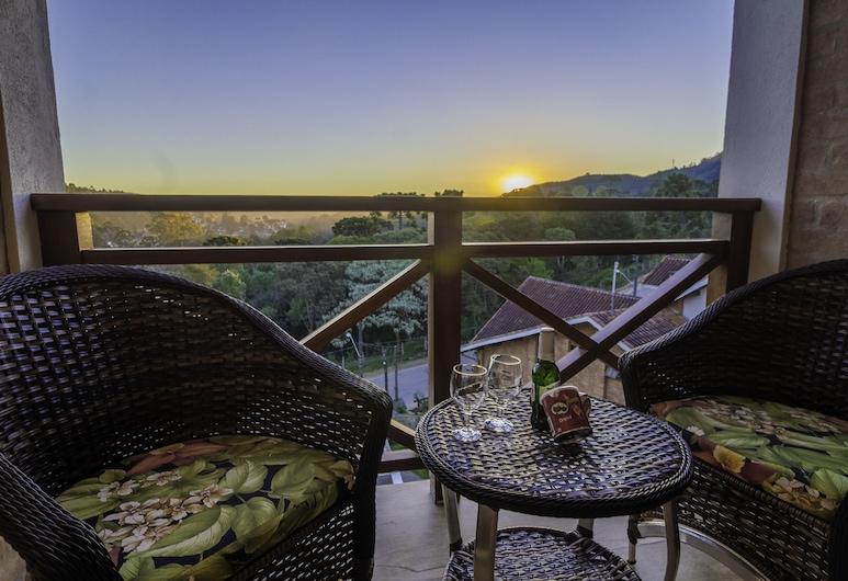 Pousada Suiça Mineira, Monte Verde, Apartament typu Deluxe Suite, balkon (com Lareira), Balkon