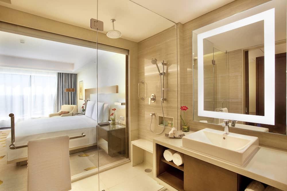 Deluxe Room, 2 Katil Bujang (Single) - Bilik mandi
