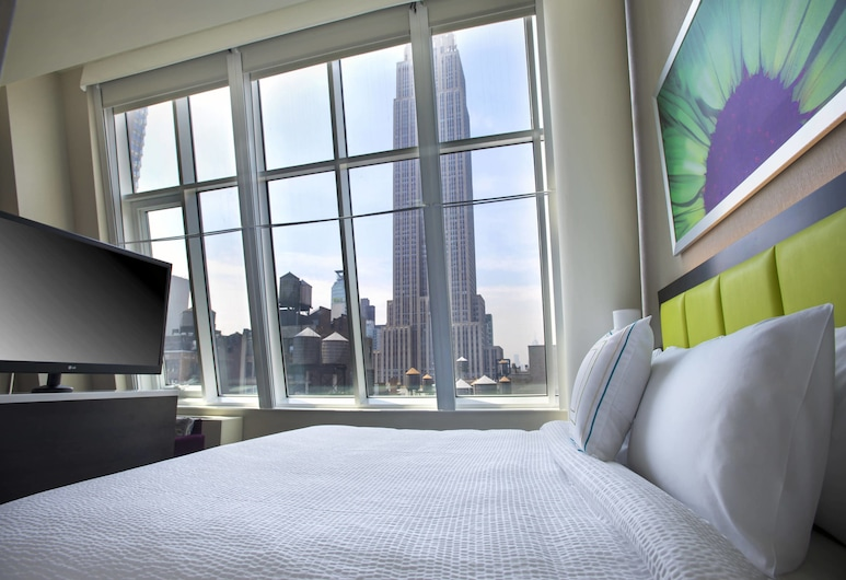 SpringHill Suites by Marriott New York Midtown Manhattan, New York, Studio, 1 Katil Raja (King), Non Smoking, City View, Pemandangan Bilik Tamu
