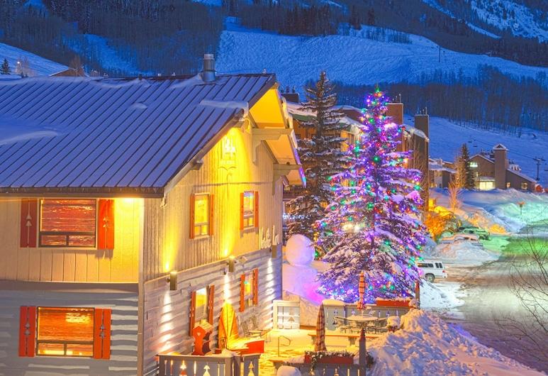 Nordic Inn, Crested Butte, Hadapan Hotel - Petang/Malam