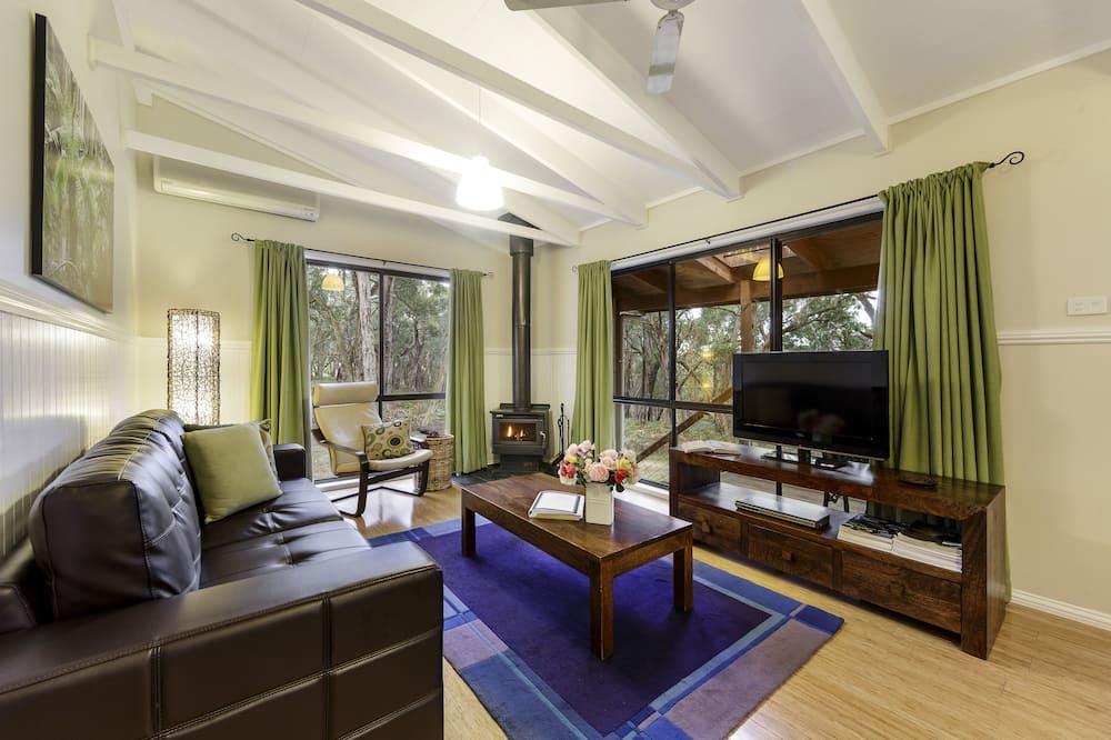 Casa de campo estándar, 2 habitaciones, para no fumadores, cocina (Ferny Reach Cottage) - Sala de estar