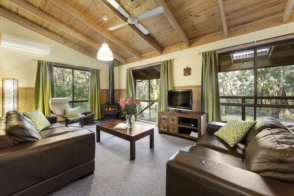 Casa de campo estándar, varias habitaciones, para no fumadores, cocina (3 Bed Canopy Cottage) - Sala de estar