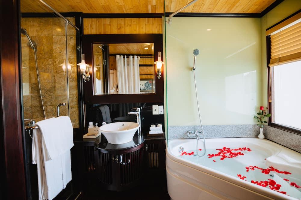 普通套房, 1 間臥室, 陽台, 海灣景觀 - 浴室