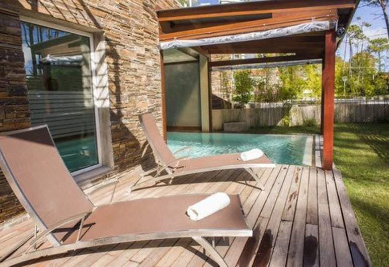 2122 Hotel Art Design, Punta del Este, Geladak matahari