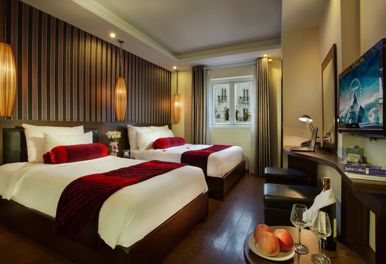 Golden Art Hotel, Hanoi, Family Suite, Guest Room