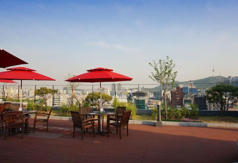 宜必思仁寺洞首爾大使酒店, 首爾, 花園