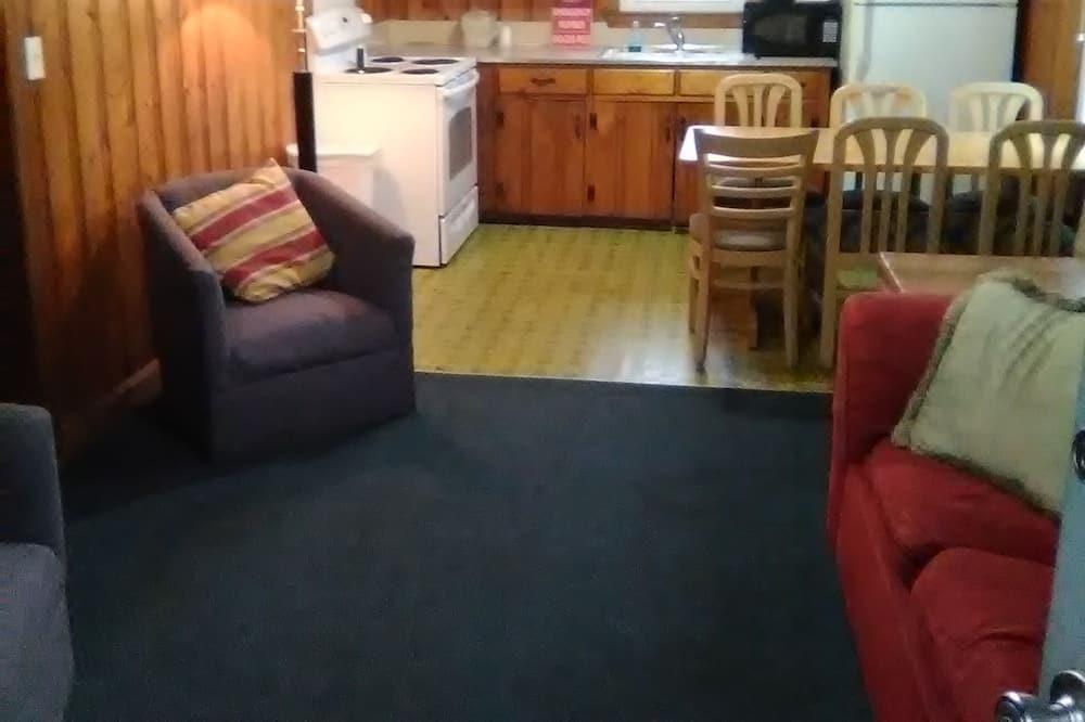 Standaard suite, 2 slaapkamers, keuken - Woonruimte
