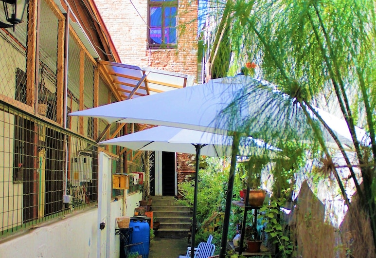 Casa Volante Hostal, Valparaiso, Economy tuba, ühine magamisruum, Terrass