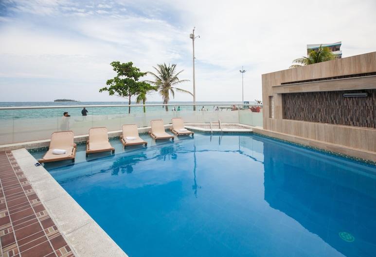 Hotel Bahia Sardina, San Andres, Kolam