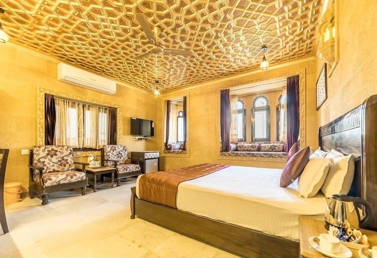 Hotel Sky Plaza, Jaisalmer, Premium Double Room, Bilik Tamu