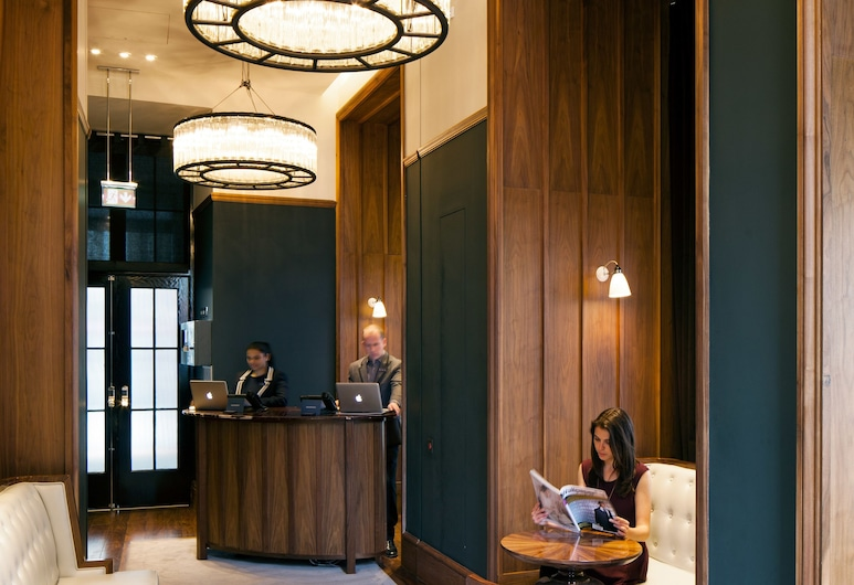 Great Northern Hotel, a Tribute Portfolio Hotel, London, London, Vastuvõtuala