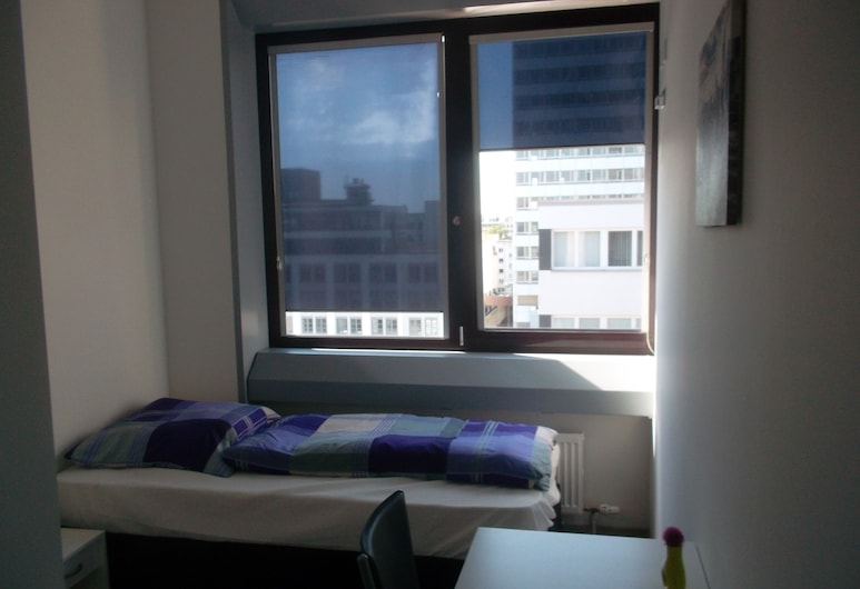Frankfurt Central Hostel, Francoforte, Camera singola, bagno privato, Camera