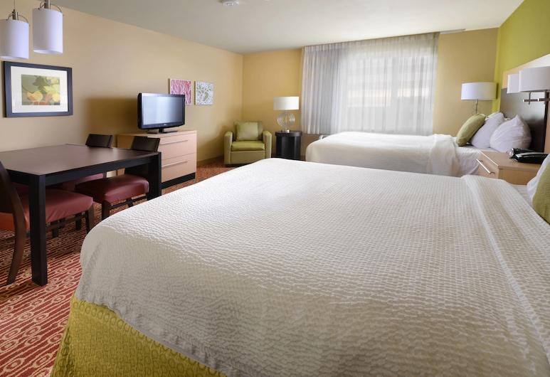 TownePlace Suites by Marriott Galveston Island, Galveston, Estudio, 2 camas Queen size, para no fumadores, Habitación