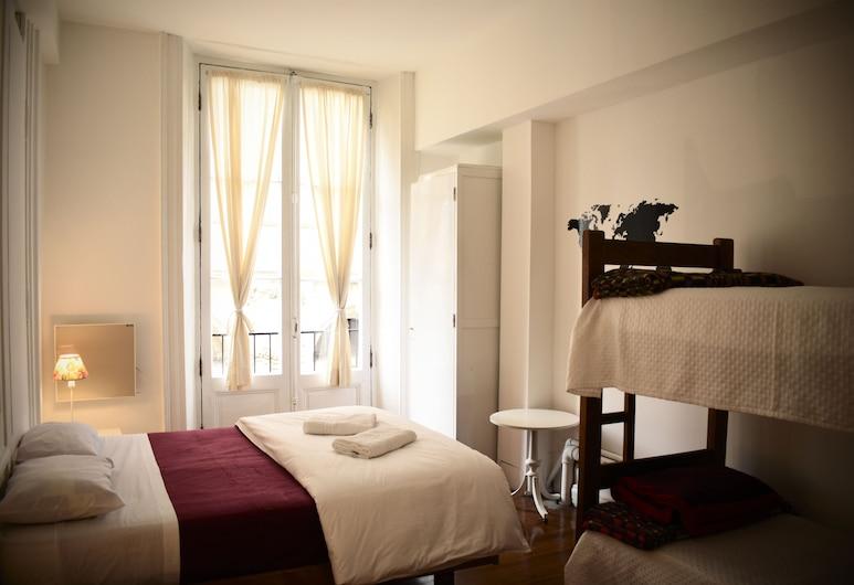 BA Stop Hostel, Buenos Aires, Kahden hengen huone, Jaettu kylpyhuone, Näköala huoneesta