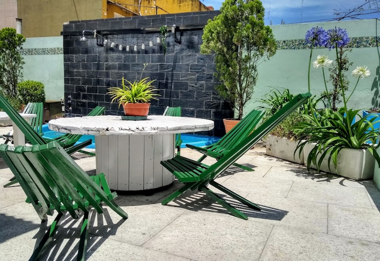 Moreno 820 Design Apartments, Buenos Aires, Terrasse/veranda