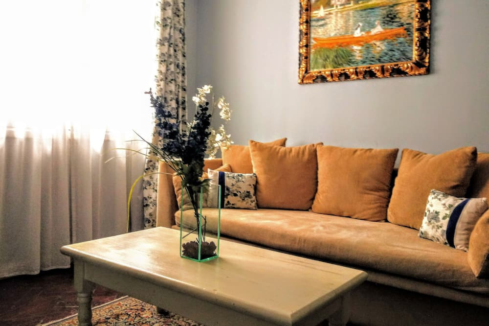 標準公寓, 1 張特大雙人床和 1 張沙發床 - 客廳