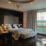 高級樓中樓客房, 1 張特大雙人床, 廚房, 城市景觀 - 客房