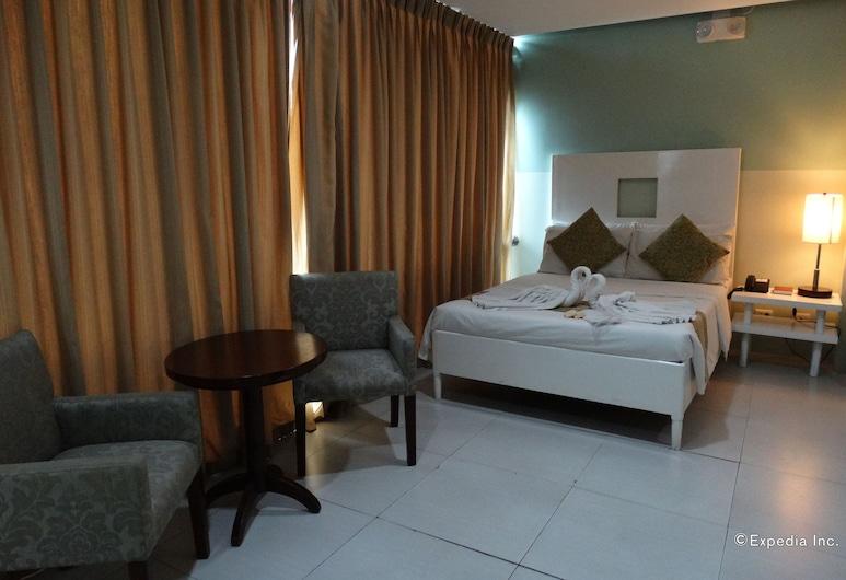 Empire Suites Hotel, Puerto Princesa, Deluxe-huone, Vierashuone