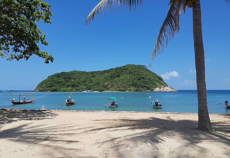 Maehaad Bay Resort, Ko Pha-ngan, Beach