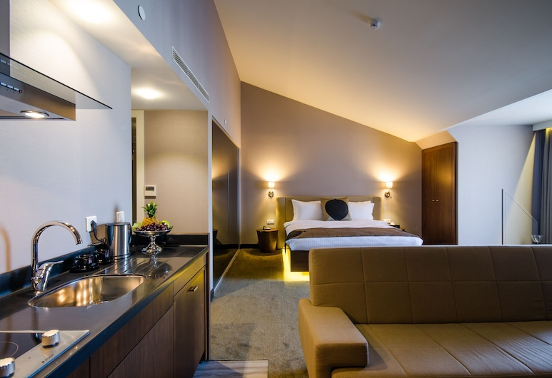 Inncity Hotel Nişantaşı, Κωνσταντινούπολη, Σουίτα, Κουζίνα στο δωμάτιο