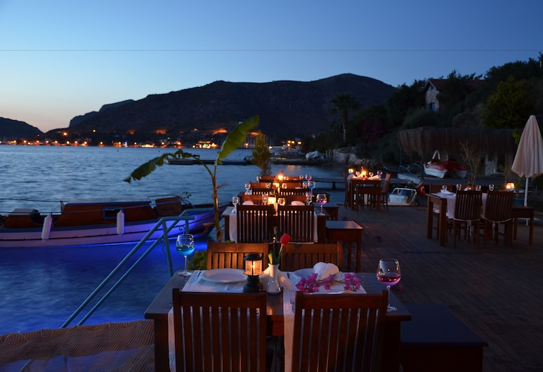 Baldan Suites Boutique Hotel & Restaurant, Marmaris, Speisen im Freien