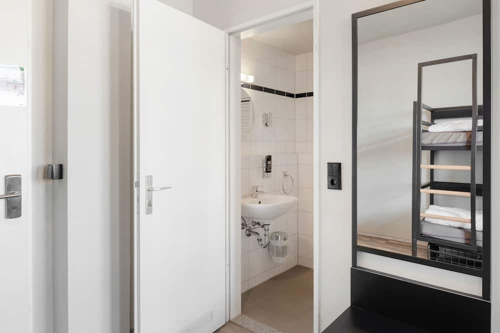 Gemeinsamer Schlafsaal, Gemischter Schlafsaal (1 bed in a dorm for 6 people) - Badezimmer