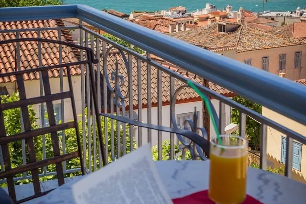 Habitación superior, balcón, vista al mar - Balcón