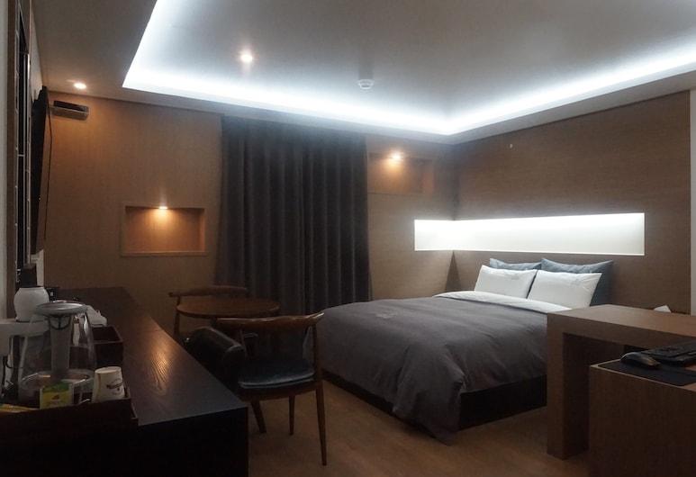 루이스 호텔, 부산광역시, 디럭스룸, 객실