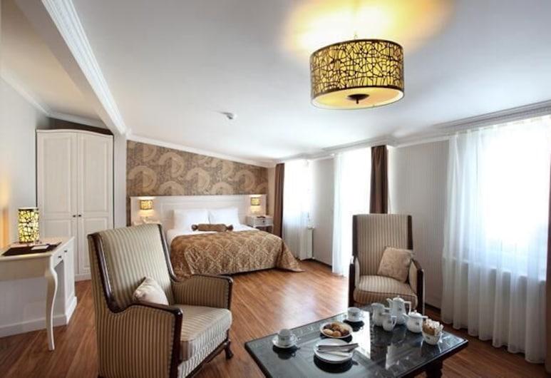 Pera Orient Suites, Istanbul, Phòng Suite, Hiên, Khu phòng khách