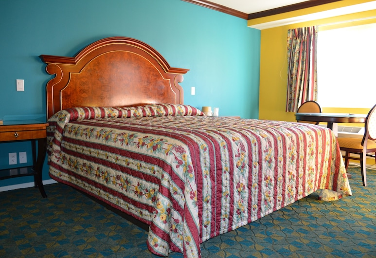 Cloud 9 Inn LAX, Inglewood, Štandardná izba, 1 extra veľké dvojlôžko, fajčiarska izba, Hosťovská izba