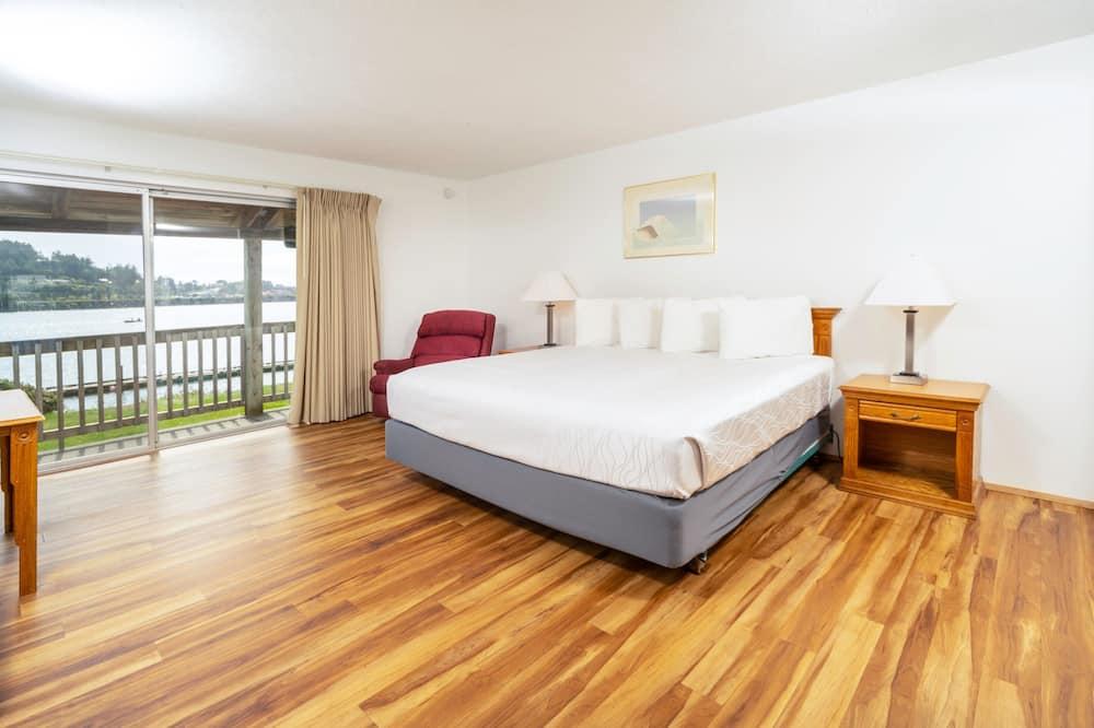 Deluxe-værelse - 1 kingsize-seng - udsigt til flod - Værelse