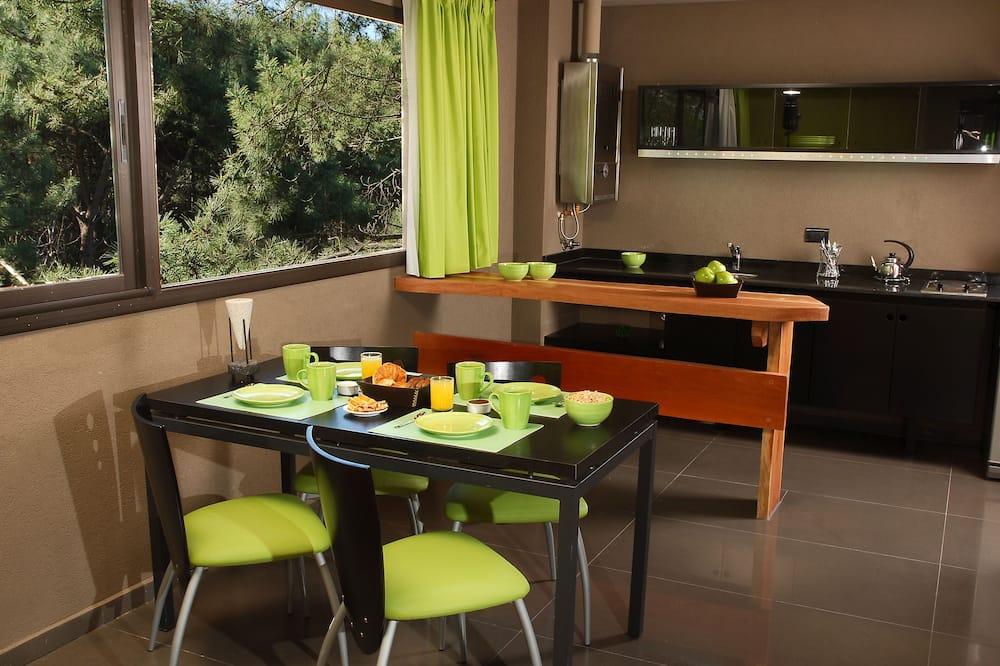 Apartmán, 1 dvojlôžko s rozkladacou sedačkou (Triple) - Obývačka