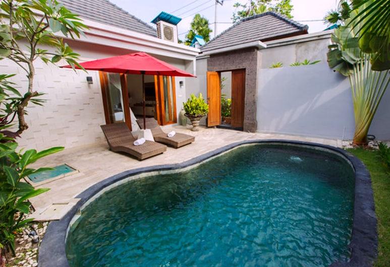 巴厘島維德亞斯別墅飯店, 科洛布坎, 行政別墅, 1 間臥室, 私人泳池, 泳池景觀, 室外游泳池