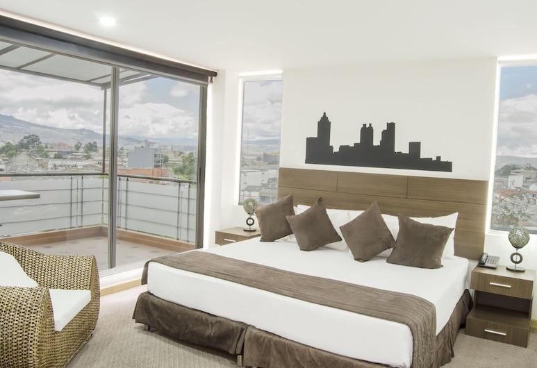 Apartamentos Regency La Feria, Bogotá, Apartasuite Ejecutiva, Näkymä huoneesta