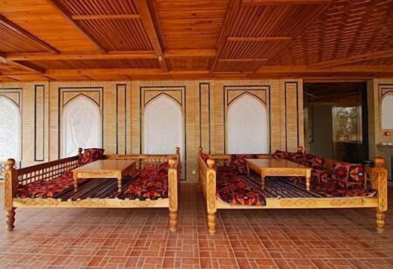 Malika Prime, Samarkandas, Terasa / vidinis kiemas