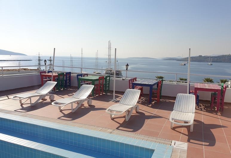 Angora Hotel, Bodrum, Terraza o patio