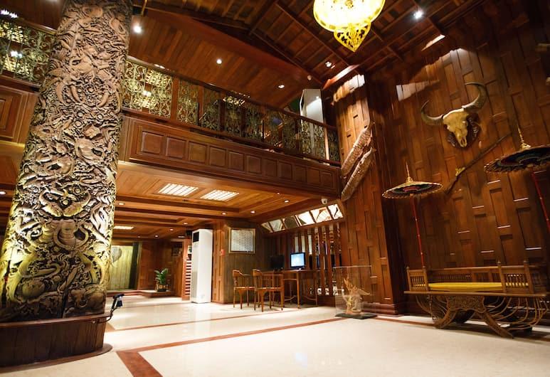Chang Siam Inn, Bankokas, Terasa / vidinis kiemas