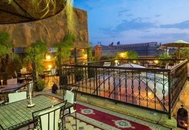Riad Hamdane & Spa, Marakešas, Terasa / vidinis kiemas