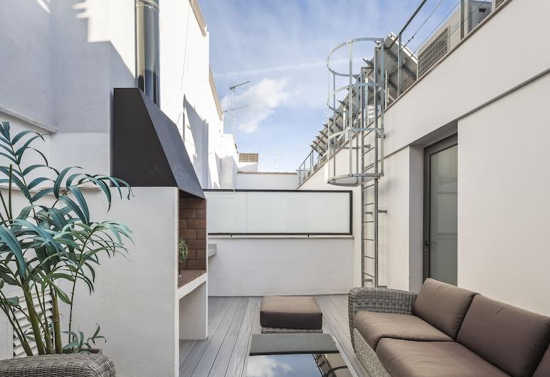 Mon Suites Catedral, Valencia, Departamento, 4 habitaciones, terraza (Free Medical Insurance), Terraza o patio