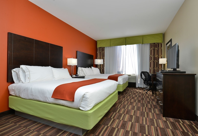 Holiday Inn Express Hotel & Suites Alva, Alva, Room, 2 Katil Ratu (Queen), Accessible, Non Smoking (Roll-In Shower), Bilik Tamu