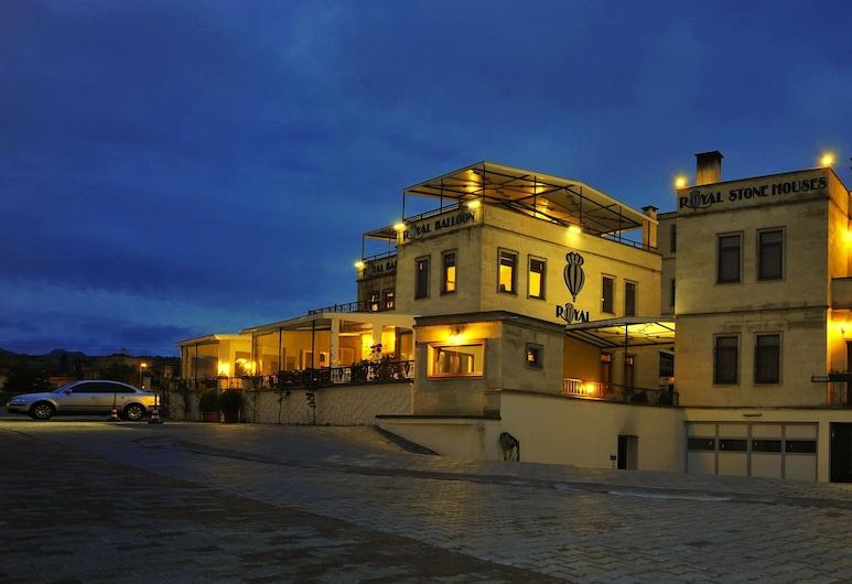 Royal Stone Houses - Goreme, Nevsehir, Pohľad na hotel – večer/v noci