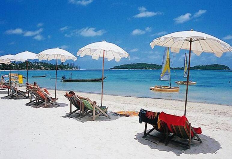 澳體育別墅酒店, 蘇梅島, 海灘