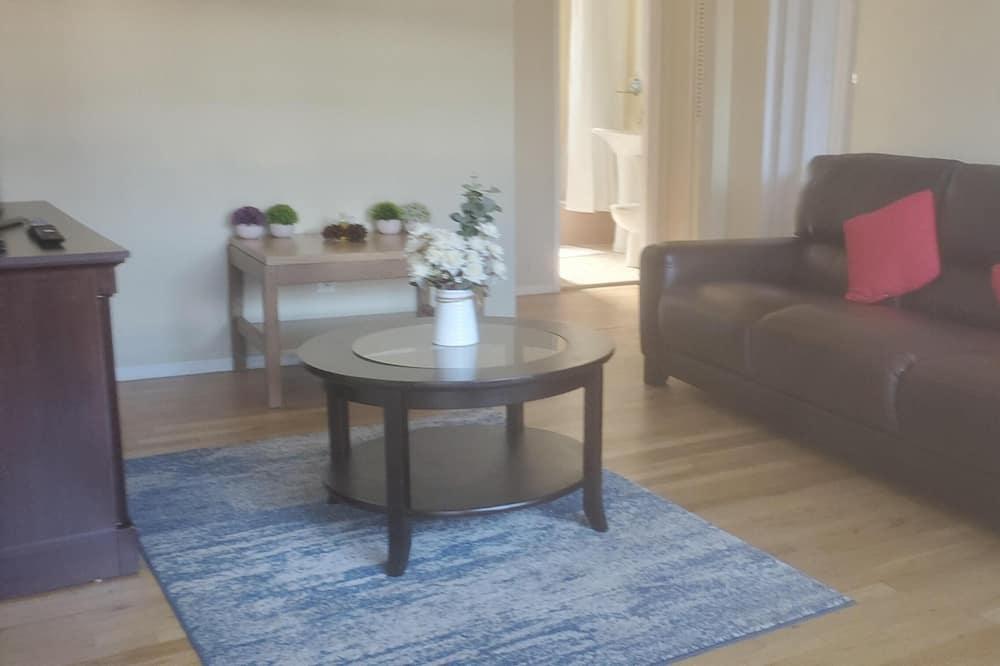 Apartment, Mehrere Betten, Küche - Wohnzimmer