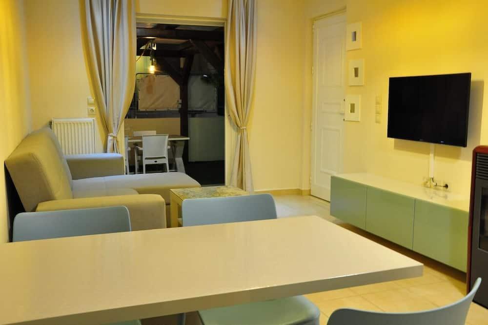 Comfort Apartment, Garden View - Living Area