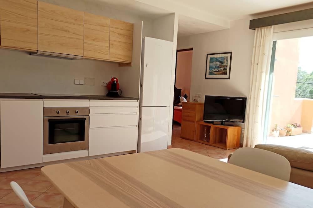 아파트, 테라스, 정원 전망 (2 Bedrooms) - 거실