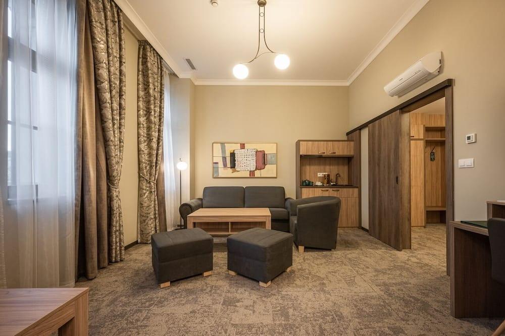 Suite estudio junior - Sala de estar