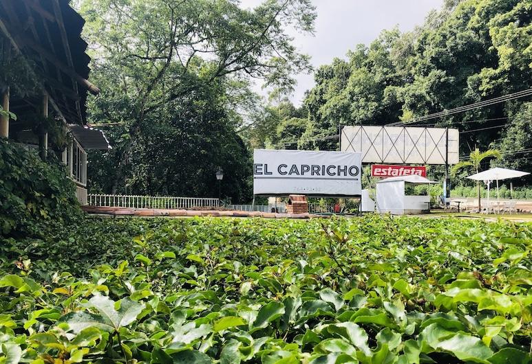 El Capricho Rotamundos, ชิโกเตเปก, สวน
