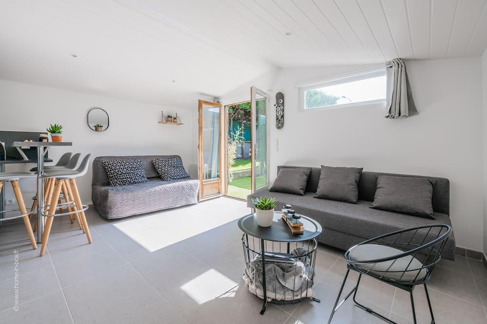 Studio, uitzicht op tuin - Lounge